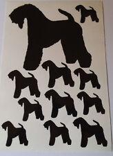 Kerry blue terrier vinyl stickers/ car decals/ window decals