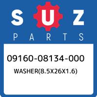 09160-08134-000 Suzuki Washer(8.5x26x1.6) 0916008134000, New Genuine OEM Part