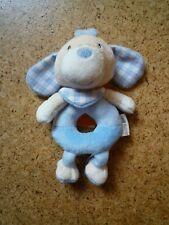 Beauty Baby Greifling Rassel blauer Hund NEU