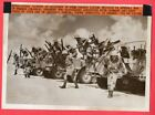 1941 Free French Forces Join British in the Desert Original News Photo