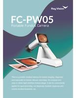 High Resolution 45° PortableHandheld Digital Fundus Retinal Camera FC-PW05
