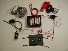NEW 10 WATT LIGHTING SYSTEM With Built-in Charger for Motorized Bicycles Mopeds
