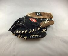 Rawlings Youth Baseball Glove PP105DP 10.5 Inch Right Hand Thrower Black Brown
