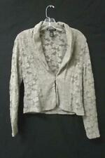 Women's Gray Lace Cardigan By INC International Concepts Size Small