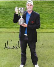 Marc Leishman signed 2012 Travelers Championship Trophy 8x10 photo autographed
