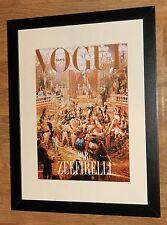 "VOGUE Wall Art -12"" x16"", INCORNICIATO VOGUE Copertina VINTAGE VOGUE copre"