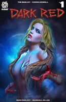 Dark Red #1 Anniversary Exclusive Shannon Maer Trade Dress Variant Aftershock