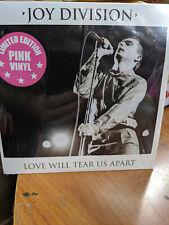 Joy Division- 7 inch PINK vinyl - Love will Tear us Apart  Ian Curtis New Order