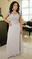 Elegant Wedding Formal Gown Party Evening Prom Maxi Dress Size 8 - 18