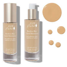 100% PURE Bamboo Blur Tinted Moisturizer Peach Bisque Organic face makeup lotion