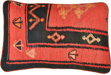 Kelim kissen Kissenhülle 40 x 60 cm beide Seiten Kelim 100% Wolle handmade