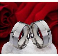Freundschaftsringe Partnerringe Eheringe aus Edelstahl Ring Gravur E142