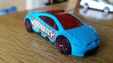 Hotwheels Mitsubishi Eclipse Fire Car