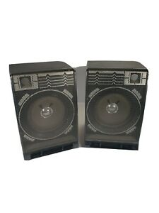 Vintage GE Boom Box Model 3-5676a Replacement Detachable Speakers