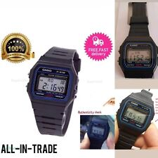 Genuine Casio F91W Classic Digital RETRO Sports Alarm Stopwatch Black Watch
