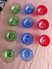 6182. Schöne Sektschalen  -  Gallo  -  3 Farben  -  11 Stück