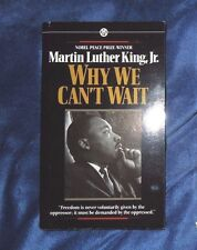 Why We Can't Wait by Dr Martin Luther Jr King 1964 Paperback First edition