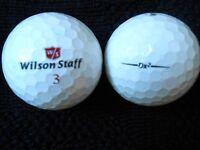 """20 WILSON STAFF - """"DX2"""" -  Golf Balls - """"A""""  Grade."""