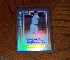 2017 Panini Donruss Signature Series #SS-BR Brooks Robinson Auto Baseball Card