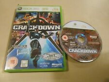 Crackdown Microsoft Xbox 360 Game COMPLETE w/ Manual European PAL/IMPORT