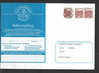 Deutschland Mi.Nr.459 waager. Paar aus Bogen in Mischfrankatur (Katalogwert €-60