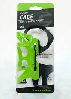 Cannondale SSR Nylon Bicycle Water Bottle Cage Green/Black, Right Opening