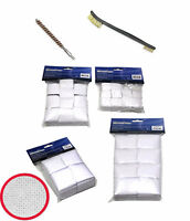 """Professional Quality Hard COTTON/ Gun Brushes/Patches Bore Caliber Rifle 2-1/4"""""""