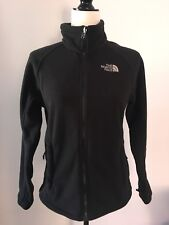 Women's THE NORTH FACE Small Black Fleece Jacket / Spring Fall Coat Layer