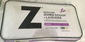 Malouf Shoulder Lavender Memory Foam Pillow-Queen