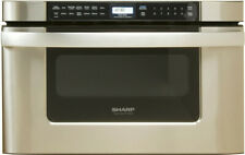 Sharp KB6524P 24 Inch Wide 1.2 Cu. Ft. Drawer Microwave with Auto Defrost