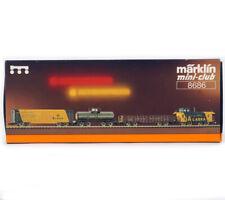 MARKLIN MINI-CLUB 8686 Z GAUGE ALASKA RAILROAD Car Set with Caboose