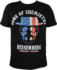 Breaking Bad: Sons Of Chemistry - Heisenberg, schwarz  Gr M, NEU&OVP