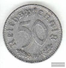 Duits Empire Jägernr: 372 1941 B zeer reeds Aluminium 1941 50 Reichspfennig Keiz