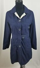 Koi Scrubs 408 women small blue geneva cotton blend twill lab coat