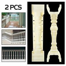 89cm Roman Concrete Column Mold Balcony Garden Yard Cement Railing Plaster Us