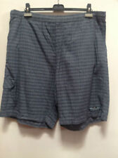 Checked Cotton Loose Fit Big & Tall Shorts for Men