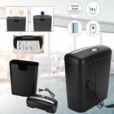 New Commercial Home Office Paper Shredder Strip Cut Credit Card Destroy Desktop