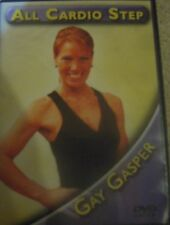 CIA 2801 Gay Gasper All Cardio Stepping Workout DVD Fitness Exercise Step