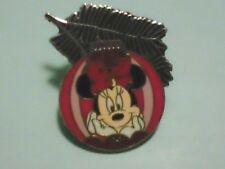 Disney Pin Minnie Mouse Christmas Ornament 2010 Hidden Mickey