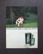 K456- Advertising Pubblicità -1975- FRESCO VICTOR