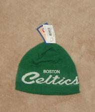 Boston Celtics NBA Basketball Green Winter Knit Hat Uncuffed New FREE SHIPPING