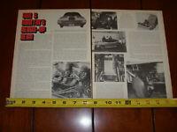 1970 SOX & MARTIN HEMI RACE CAR ORIGINAL ARTICLE