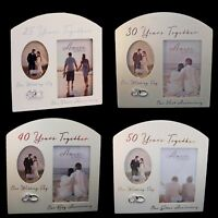 Amore Photo Frame - Anniversay - .... Years Together - Choose Design