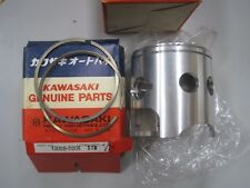 KAWASAKI NOS PISTON & RINGS 13001-1191 & 13008-5008  KXT250 Tecate A2