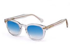 X-LAB Occhiali da Sole 8004 stile moscot  31 trasparente/6265 azzurro sfumato