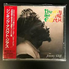 Thinking About the Earth by Jimmy Cliff [Japanese Import w.obi strip] CD album