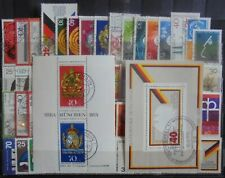 GERMANY (West) 1973-74 Collection of 61 + 2 Mini-Sheets Used
