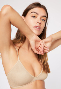 NEW Free People Intimately Seamless One Kiss Bra in Nude XS/S-M/L $30 | FF-205