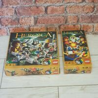 Lego Heroica 3860 Fortaan Base Set & 3857 Draida Expansion Set Rare Retired