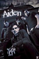 AIDEN ~ SCARY HOUSE 24x36 MUSIC POSTER William Francis NEW/ROLLED!
